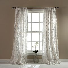 Lush Decor Giselle Sheer Window Curtain - 54'' x 84''
