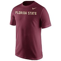 Men's Nike Florida State Seminoles Wordmark Tee