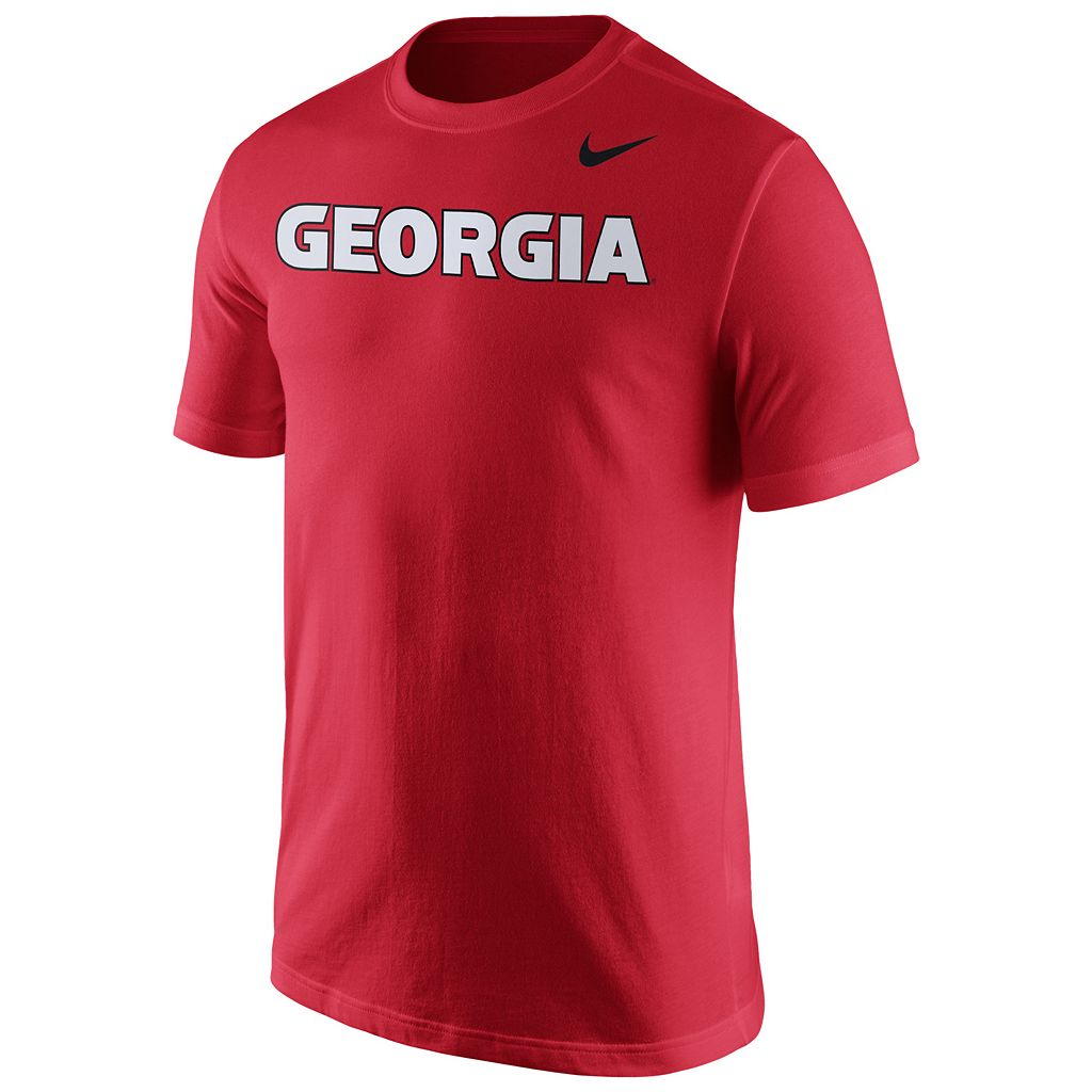 Men's Nike Georgia Bulldogs Wordmark Tee