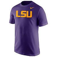 Men's Nike LSU Tigers Wordmark Tee