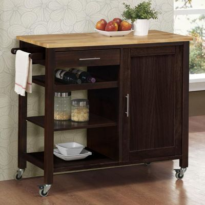 4D Concepts Calgary Wheeled Kitchen Cart