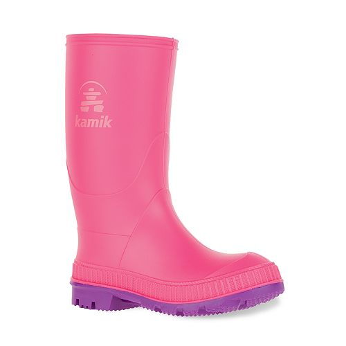 Kamik Stomp Kids' Waterproof Rain Boots