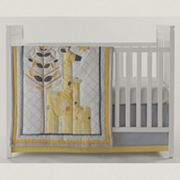 Happy Chic by Jonathan Adler Safari Giraffe 4 pc Crib Bedding Set