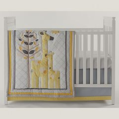 Happy Chic by Jonathan Adler Safari Giraffe 4-pc. Crib Bedding Set