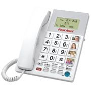 First Alert Oversized Button Phone with Emergency Key