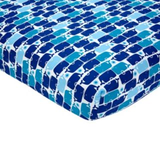 Happy Chic by Jonathan Adler Party Whale Crib Sheet