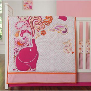 Happy Chic by Jonathan Adler Party Elephant 4-pc. Crib Bedding Set