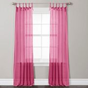 Lush Decor Helena Sheer Window Curtain Pair - 38'' x 84''