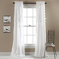 Lush Decor Avery Sheer Curtain Pair - 54'' x 84''