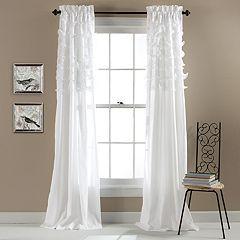 Lush Decor Avery Sheer Window Curtain Pair - 54'' x 84''