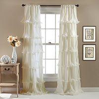 Lush Decor Nerina Sheer Window Curtain - 54'' x 84''