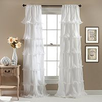 Lush Decor Nerina Sheer Curtain - 54'' x 84''