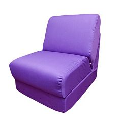 Fun Furnishings Canvas Sleeper Chair - Teen