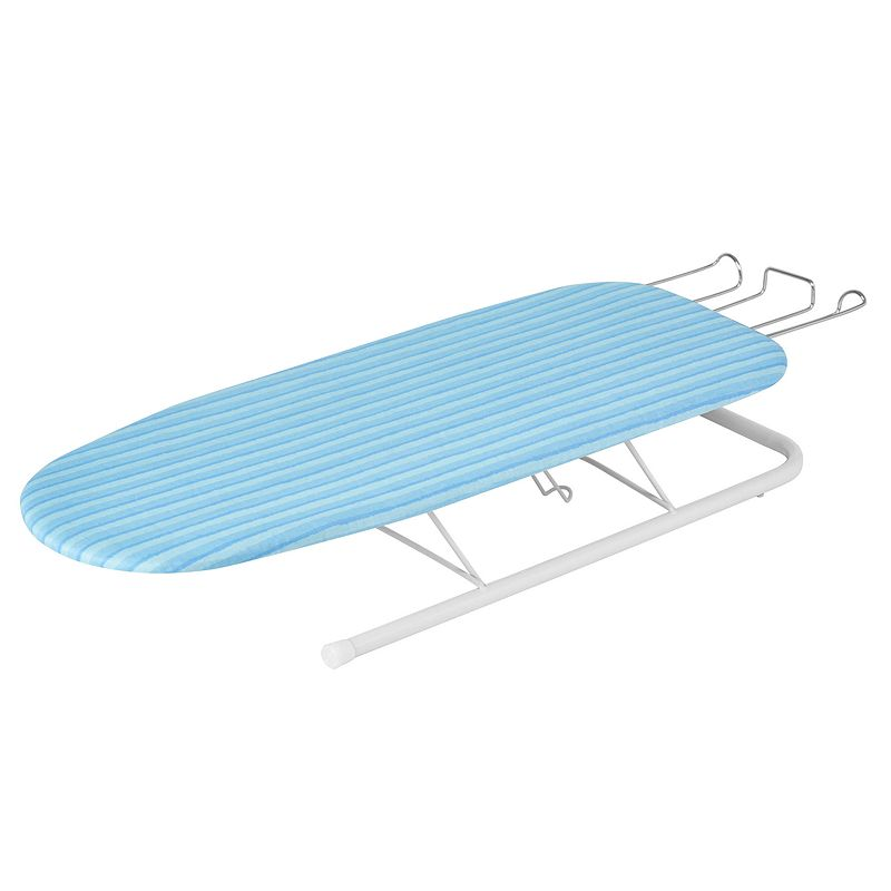 Honey-Can-Do Deluxe Tabletop Ironing Board, Adult Unisex, Blue