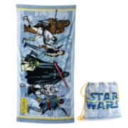 Star Wars Group 2-pc. Beach Towel & Drawstring Bag Set