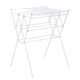 Honey-Can-Do Mesh Top Expandable Drying Rack