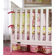 Carter's 4 pc Jungle Crib Bedding Set
