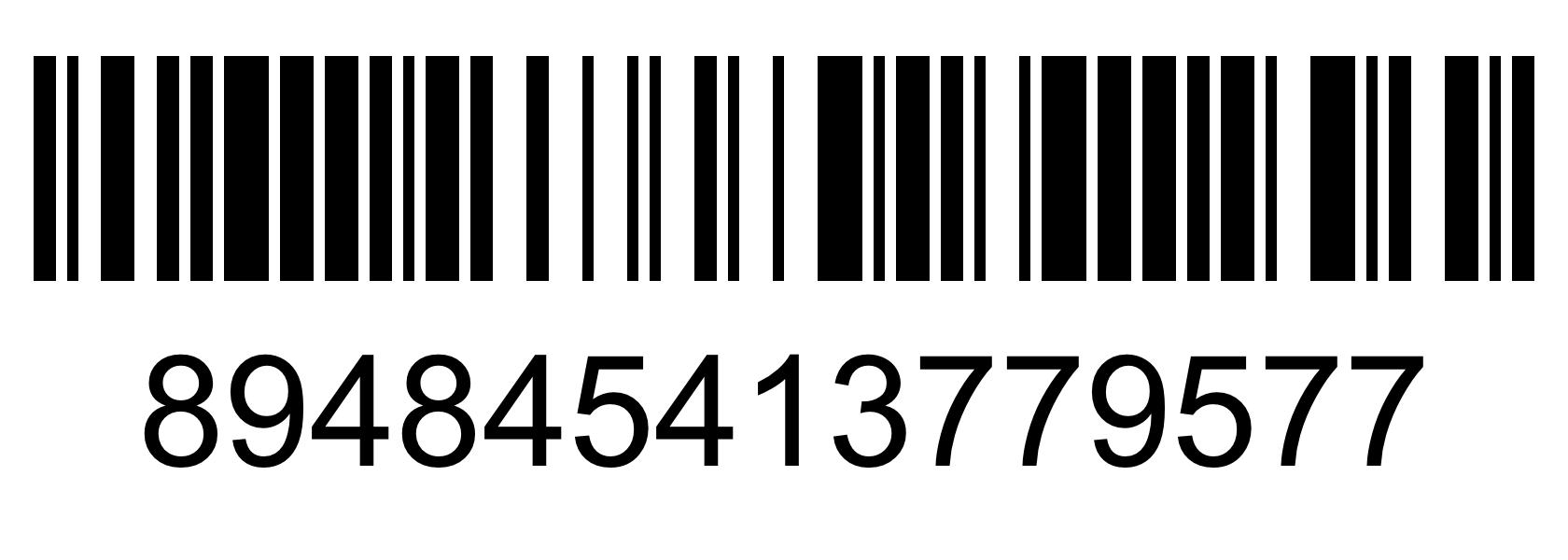 Barcode - 894845413779577