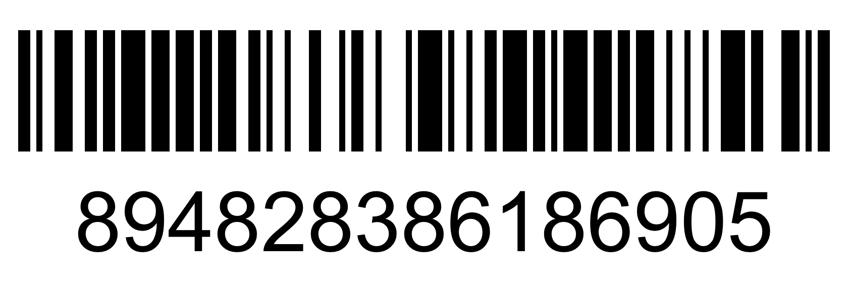 Barcode - 89482838618690