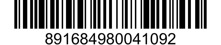 Barcode - 891684980041092