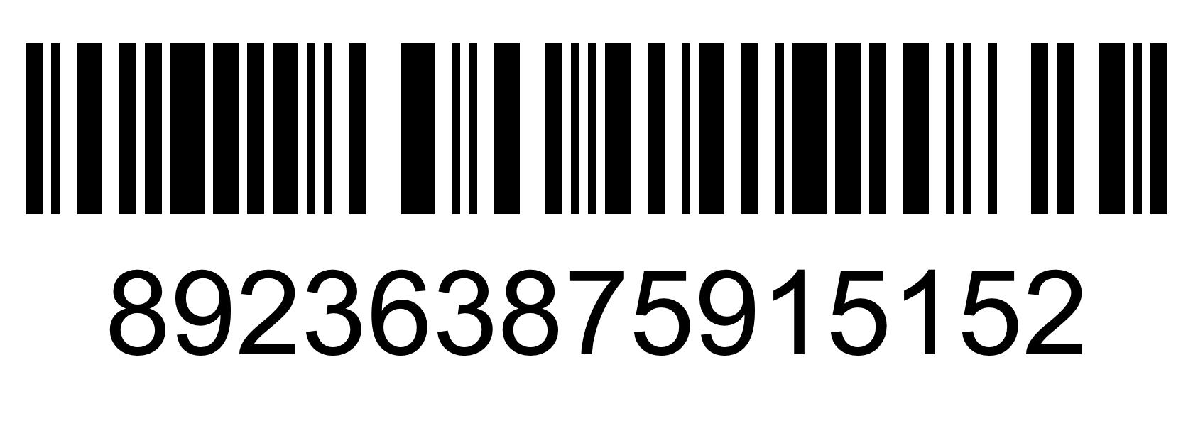 Barcode - 892363875915152