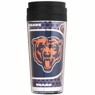 Chicago Bears Acrylic Tumbler With Metallic Wrap