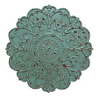 Stratton Home Decor Shabby Medallion Wall Decor