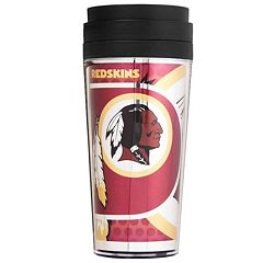 Washington Redskins Acrylic Tumbler With Metallic Wrap