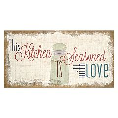 Stratton Home Decor ''Seasoned With Love'' Wall Art