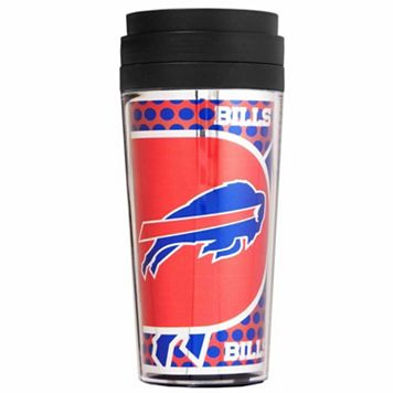 Buffalo Bills Acrylic Tumbler With Metallic Wrap