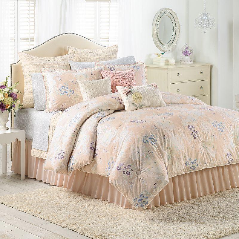 lc lauren conrad spring serenade 2 pc comforter set twin xl twin