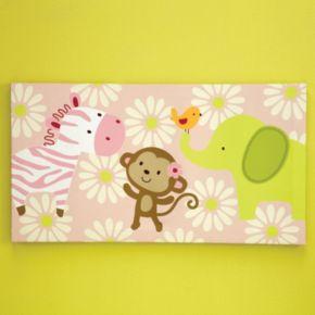Carter's Jungle Canvas Wall Art