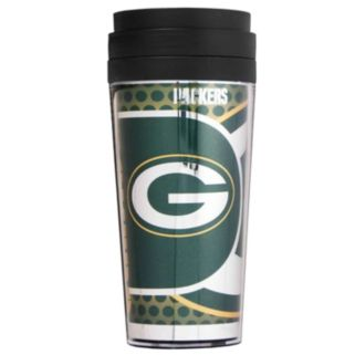 Green Bay Packers Acrylic Tumbler With Metallic Wrap
