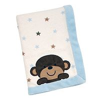 Carter's Monkey Fleece Blanket
