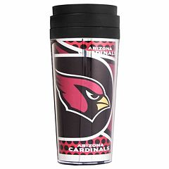 Arizona Cardinals Acrylic Tumbler With Metallic Wrap