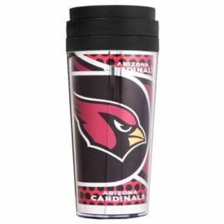 Arizona Cardinals Acrylic Tumbler With Metallic Wrap