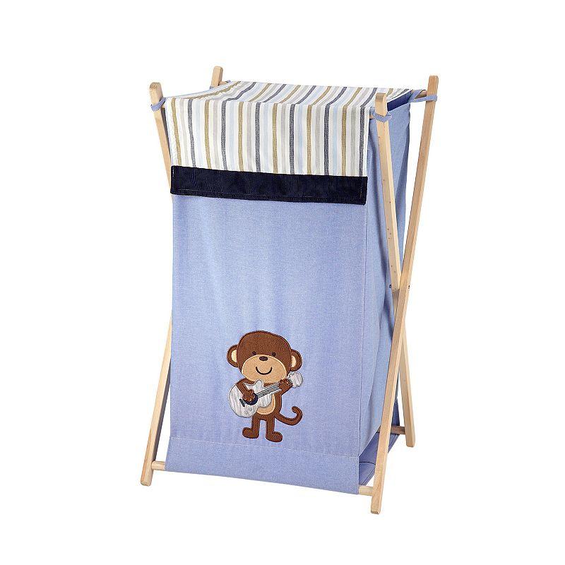 Blue laundry basket kohl 39 s - Monkey laundry hamper ...