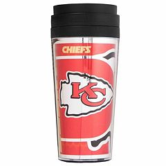 Kansas City Chiefs Acrylic Tumbler With Metallic Wrap