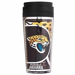 Jacksonville Jaguars Acrylic Tumbler With Metallic Wrap