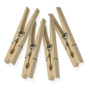 Honey-Can-Do 200 pkClassic Wooden Clothespins
