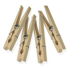 Honey-Can-Do 200-pk. Classic Wooden Clothespins