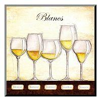 Art.com ''Les Vins Blancs'' Wood Wall Art