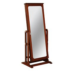 Jewelry Armoire Cheval Floor Mirror
