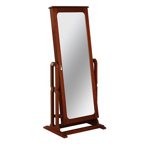Jewelry Armoire Cheval Floor Mirror