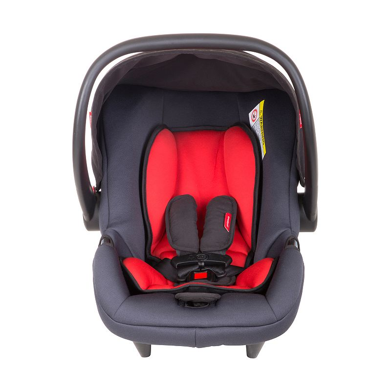 Phil & Teds Alpha Rear-Facing Infant Car Seat, Red
