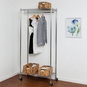 Honey-Can-Do Heavy-Duty Rolling Garment Rack