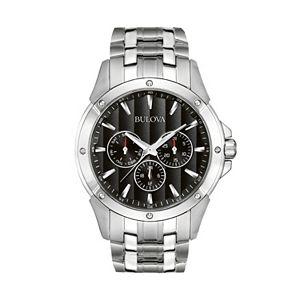 Bulova Men's Stainless Steel Watch - 96C107