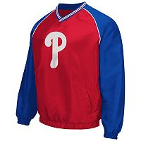 Men's Philadelphia Phillies Pullover V-Neck Jacket