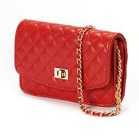 Mellow World Amanda Quilted Crossbody Wallet