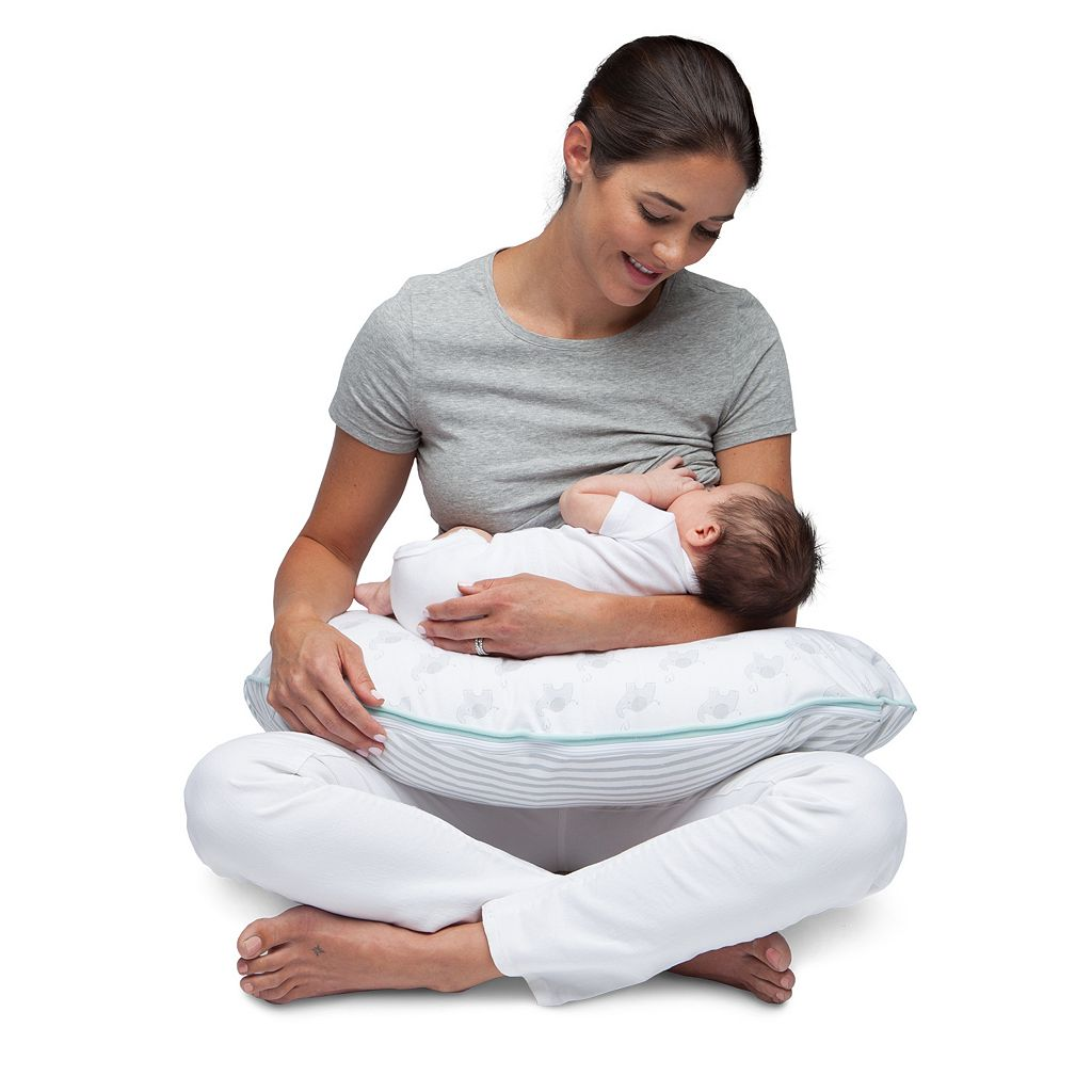 Boppy Deluxe Organic Nursing and Support Pillow Cover